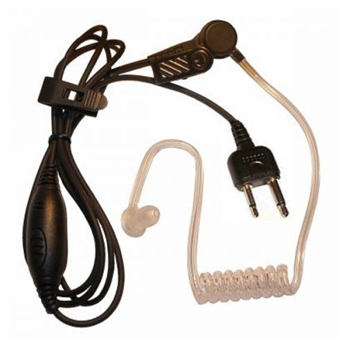 Acoustic Tube Earpiece with MIC and PTT for Alinco Handheld Transceivers
