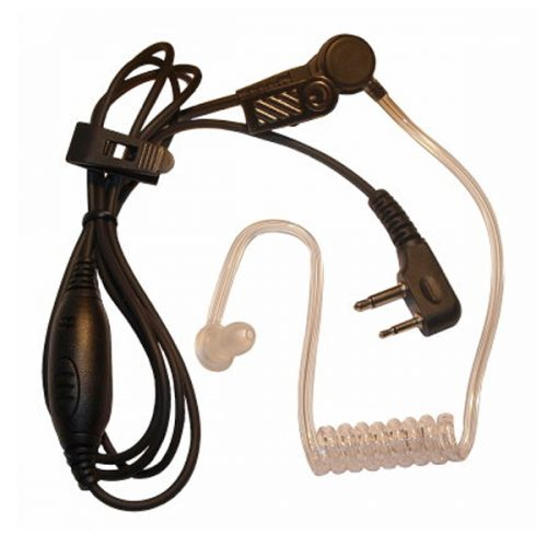 Acoustic Tube Earpiece with MIC and PTT for Vertex Standard Handheld Transceivers