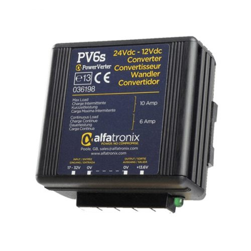 Alfatronix 24 VDC – 12 VDC Voltage Converters