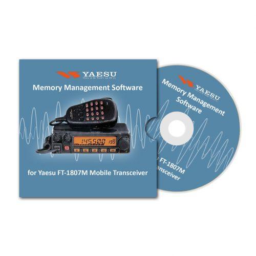 Memory Management Software for Yaesu FT-1807M Mobile Transceiver