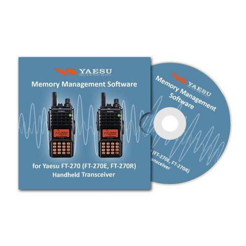 Memory Management Software for Yaesu FT-270 (FT-270E, FT-270R) Handheld Transceiver