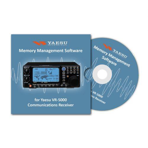 Memory Management Software for Yaesu VR-5000 Communications Receiver