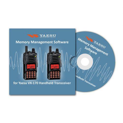 Memory Management Software for Yaesu VX-170 Handheld Transceiver