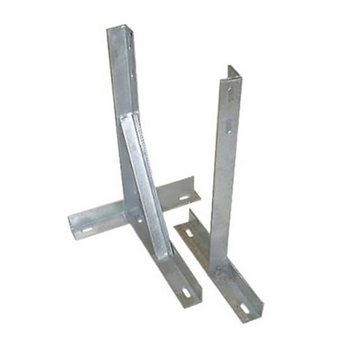 TK-18 –18″ Galvanised T and K Wall Bracket (with Bolts)