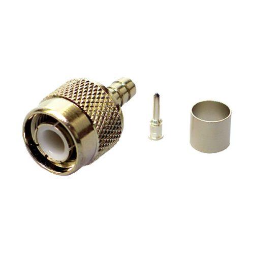 TNC Crimp Type Plug (5 Pcs)