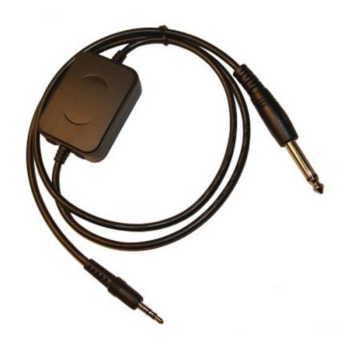 Universal RX Data Mode Cable for Receivers Fitted with 6.35 mm Audio Output Jack